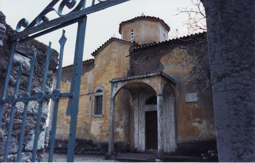 Εκκλησία Αγιο Δημήτρη στο παλιό χωρίο